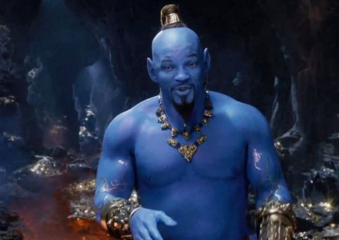 Will Smith just watched Aladdin, surrounded by fans, unnoticed