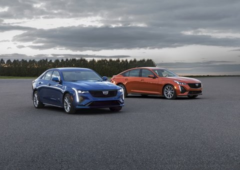 Cadillac expands V-series with new CT4-V and CT5-V sedans