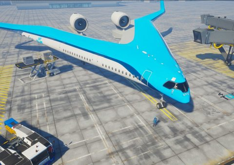 We might soon be able to travel in a V-shaped aircraft