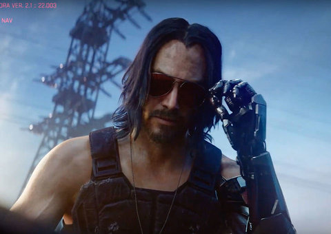 What's Keanu Reeves doing in 'Cyberpunk 2077'