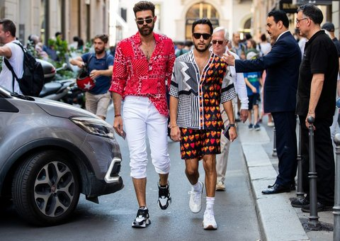 At Milan Fashion Week, the street style is bolder than ever