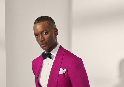 Ralph Lauren brings a pop of colour to Milan Fashion week