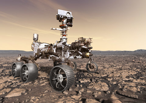 NASA finds methane on Mars; a gas produced by living things