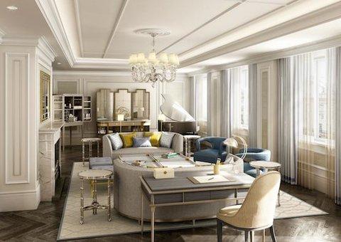 From Dubai to Edinburgh: The world's best hotel suites