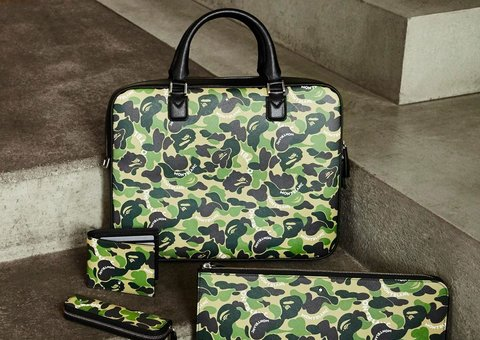 Inside the Montblanc x Bape collection