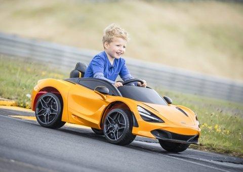 McLaren has created a mini 720s supercar for kids