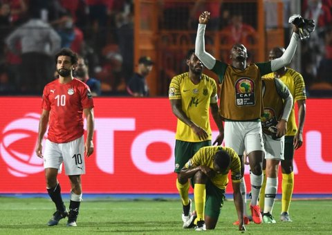 Mo Salah's Egypt knocked out of AFCON in shock South Africa defeat