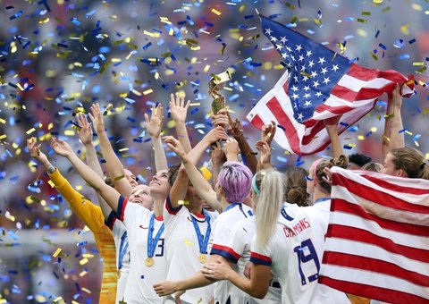 Everyone wants equal pay for the 2019 FIFA World Cup winners - team USA