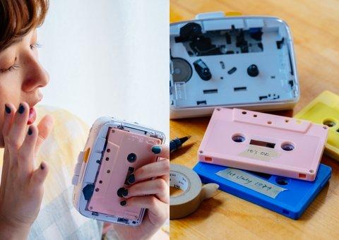 A cassette player is smashing records on Kickstarter