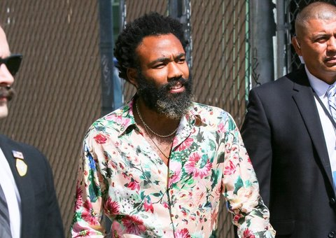 All hail Donald Glover and his pyjama suit