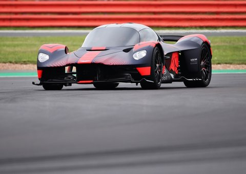 Aston Martin Valkyrie is now public (at last)