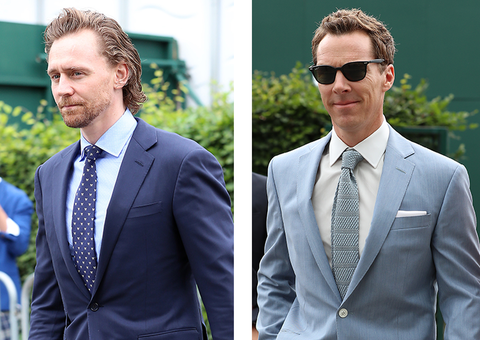 Tom Hiddleston and Benedict Cumberbatch were the real winners at Wimbledon
