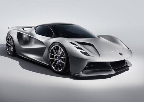 IN PICTURES: The $2 million Lotus Evija electric hypercar