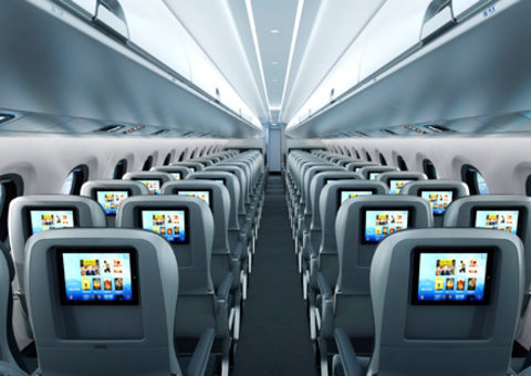 Nobody likes the middle seat on a plane and this company wants to change it