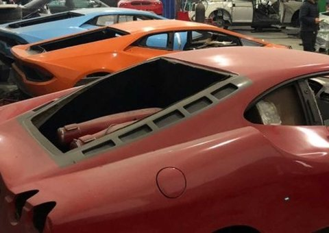 Fake Lamborghini and Ferrari factory shut down in Brazil