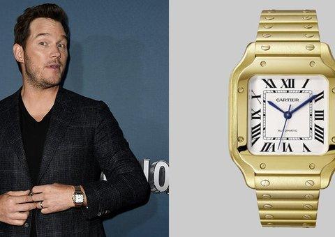 Chris Pratt understand the importance of a Cartier