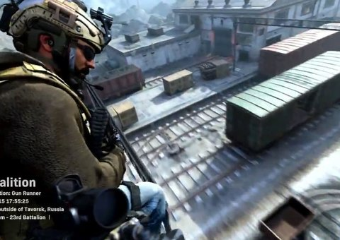 Call of Duty Modern Warfare teases helicopter multiplayer