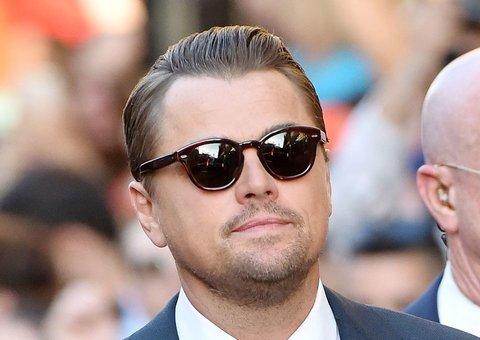 Leonardo DiCaprio's sunglasses pay homage to Cary Grant