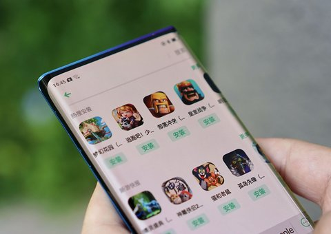 Oppo shows off 'waterfall screen' prototype