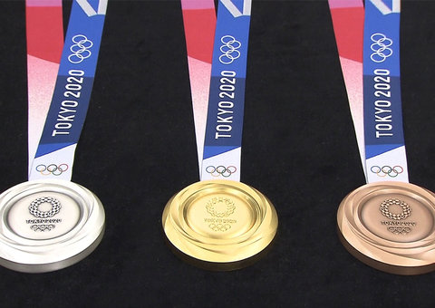 Japan has salvaged more than $1.6 million worth of gold from old phones for its Olympic medals