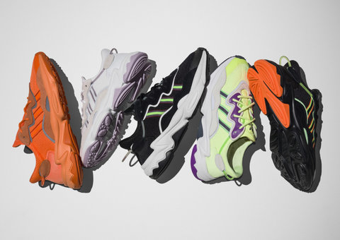 Adidas Originals re-launch OZWEEGO and LXCON sneakers