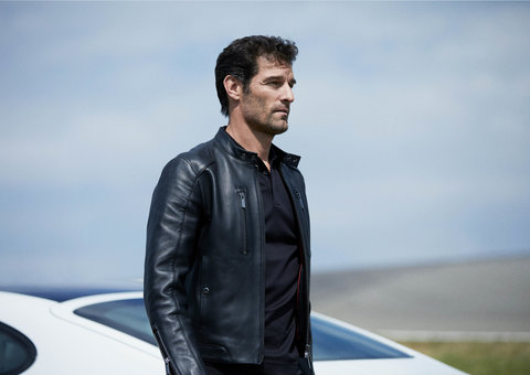 Racing driver Mark Webber stars in Porsche x Boss Fall/Winter 2019 campaign