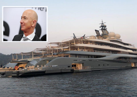 Jeff Bezos under fire for 'buying' new $400 million dollar mega yacht