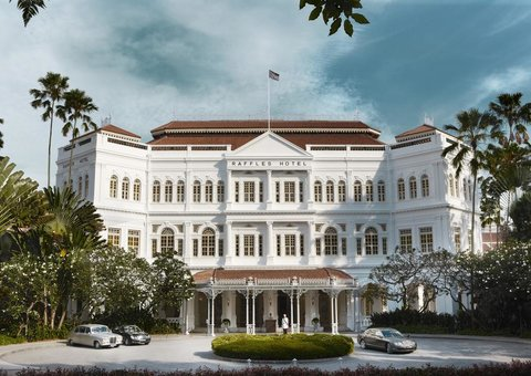 Newly renovated Raffles Hotel Singapore hotel is officially open