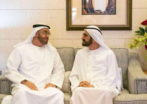 Sheikhs Mohammed bin Rashid and Mohamed bin Zayed meet to discuss the emirates