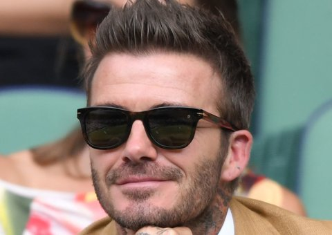 The secret to David Beckham's impeccable hair