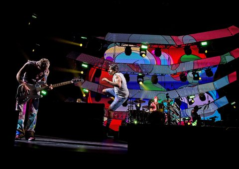 Red Hot Chili Peppers woo Abu Dhabi in first ever UAE concert