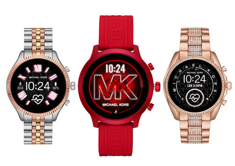 Michael Kors launches 3 new smartwatches