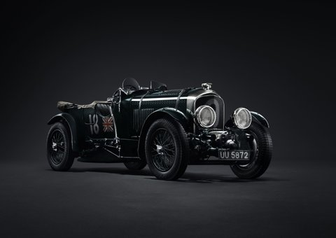 Bentley will re-make its  iconic 1929-style Blower cars