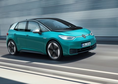 Volkswagen re-brands itself a 'fully-electric' car company