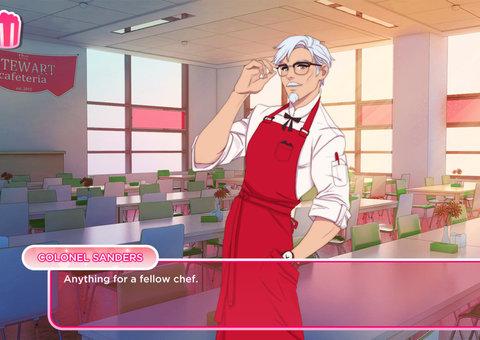 KFC creates online dating simulator, 'I love you Colonel Sanders!'