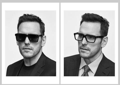 Matt Dillon is the new face of Brioni eyewear