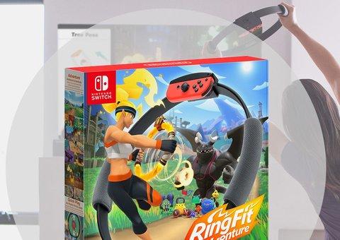 Nintendo's Ring Adventure is a next-gen Wii Fit