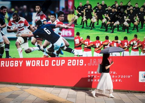 How the Rugby World Cup will defeat typhoons