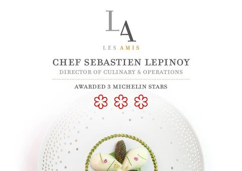 Two Singapore restaurants made history with three Michelin stars