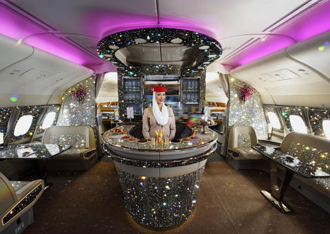 Emirates just revealed its new 'Diamond' lounge on-board the A380