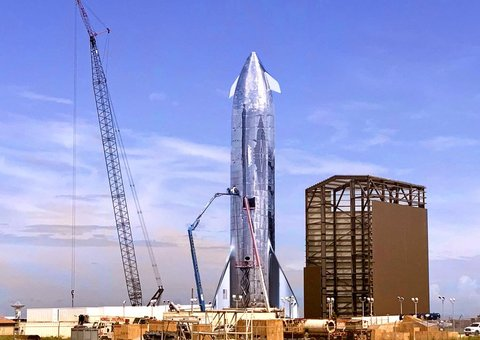 Elon Musk teases first look at SpaceX Starship