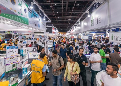The largest tech sale in all the Middle East has returned to Dubai