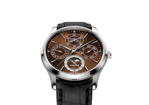 The new Jaeger-LeCoultre: the Master Ultra Thin Perpetual Enamel Chestnut