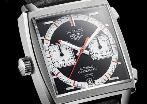 Back in black: TAG Heuer unveils latest US $6,550 Monaco