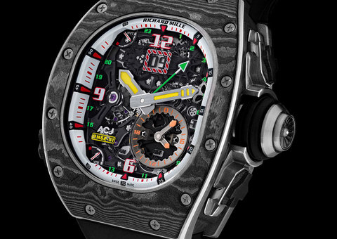 Richard Mille's $1.2 million watch is your perfect private jet companion