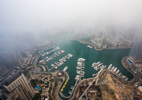 It's raining in Sharjah and Northern Emirates – and Dubai is next