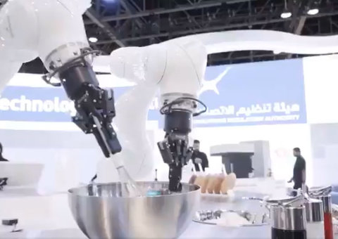 Meet the robot that can flip your pancakes and make your coffee