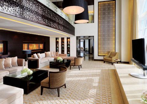 Inside the Penthouse suite at the JW Marriot Marquis Dubai