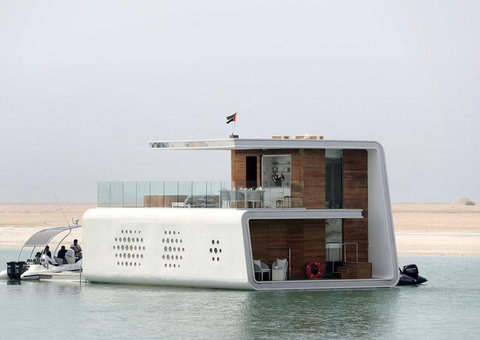 World's first floating police station will open in Dubai