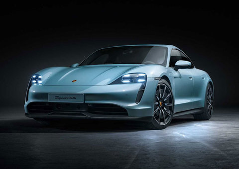 Porsche unveils a third Taycan, and it's the most affordable yet